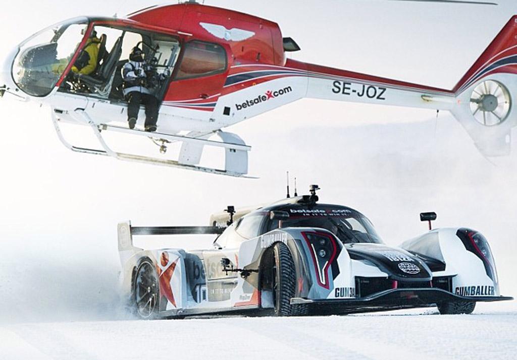 Jon Olsson on the slopes in his Rebellion R2k