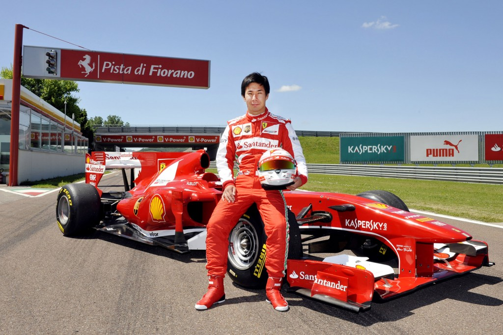 Kamui Kobayashi Tests Ferrari F1 Car, But Don't Get Too Excited