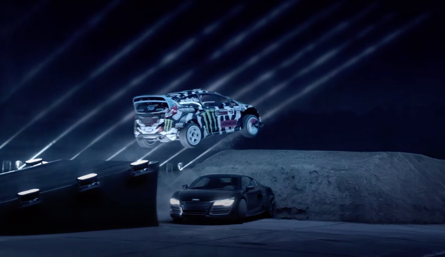 Ken Block And Crew Battle Darkness, Lasers, And Dirt: Video