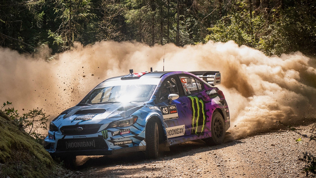 Ken Block's Subaru WRX STI rally car