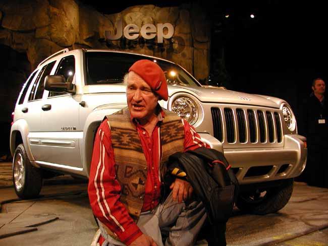 Ken Kesey Jeep Liberty, 2001 Detroit Auto Show