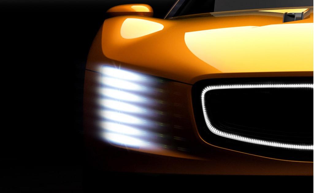 Kia GT4 Stinger concept, 2014 Detroit Auto Show