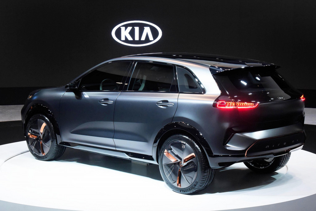 Kia Niro EV concept with 238-mile range debuts at 2018 CES