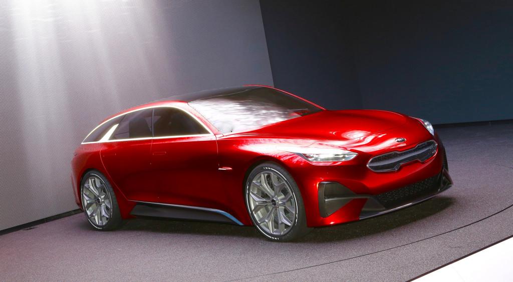 Kia Proceed concept, 2017 Frankfurt Motor Show