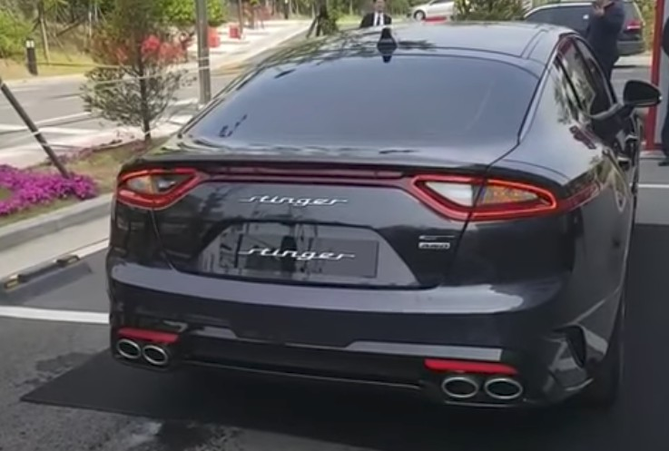 Here S What The 2018 Kia Stinger S Exhaust Sounds Like