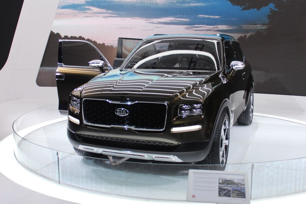 Kia Telluride Concept Debuts In Detroit Hints At Potential Borrego