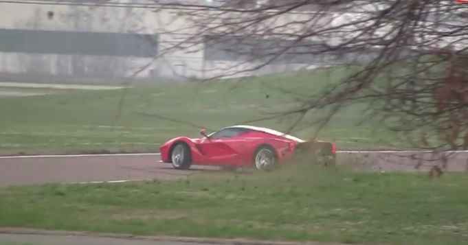 Über-Rich Guys, Don't Feel Bad. Kimi Spun The LaFerrari, Too: Video