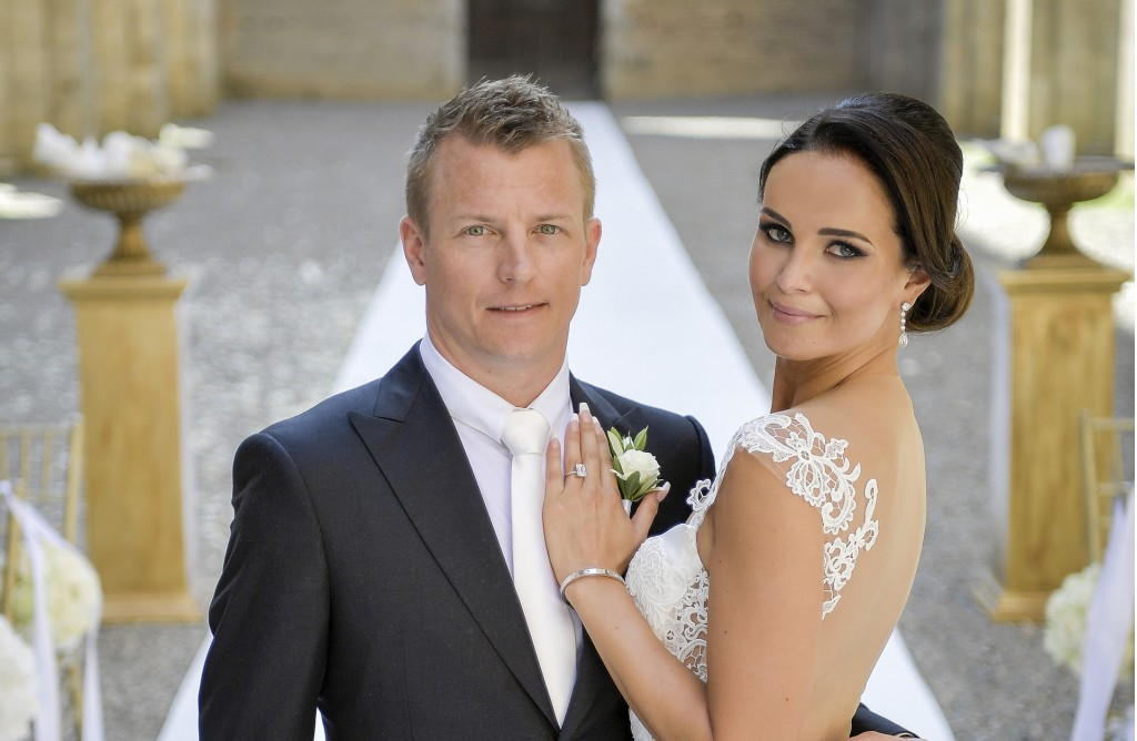 Kimi Räikkönen and Minttu Virtanen