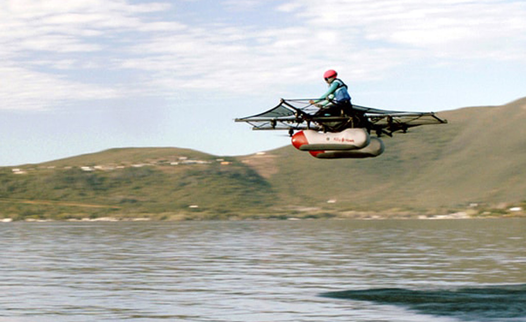 Meet The Kitty Hawk Flyer The Flying Car Backed By Google