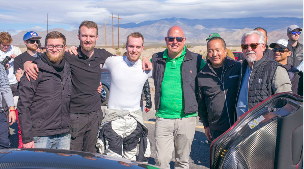 Koenigsegg Agera RS sets production car land speed record of 277.9 mph