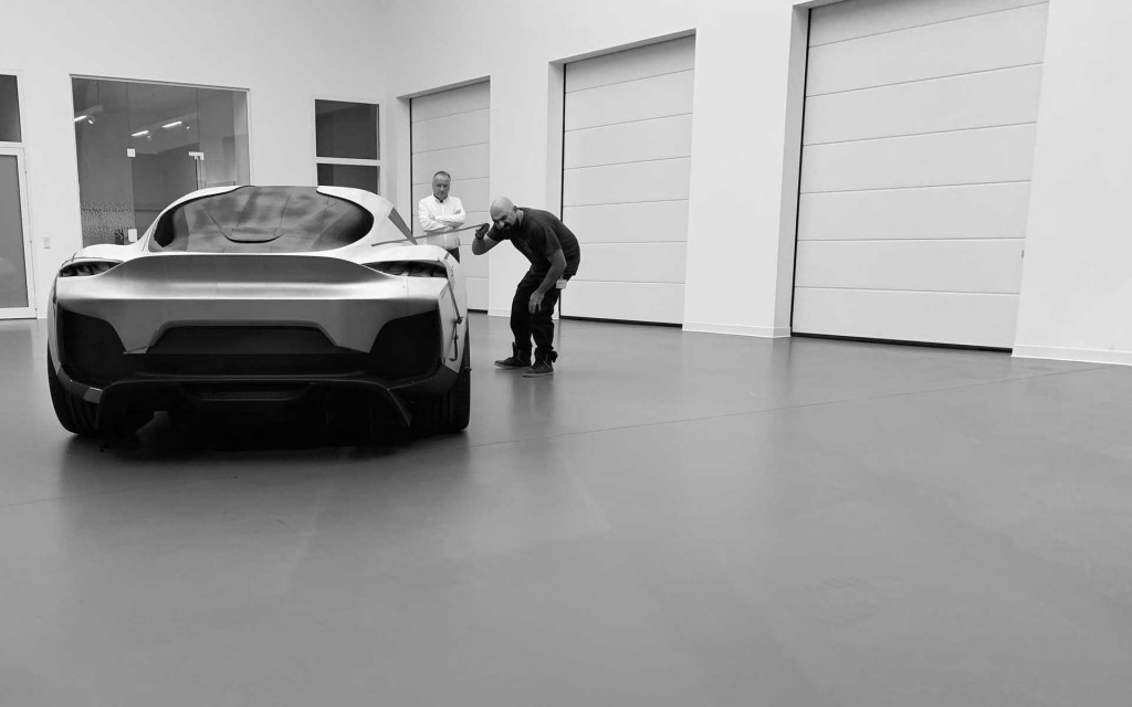 Koenigsegg Gemera design