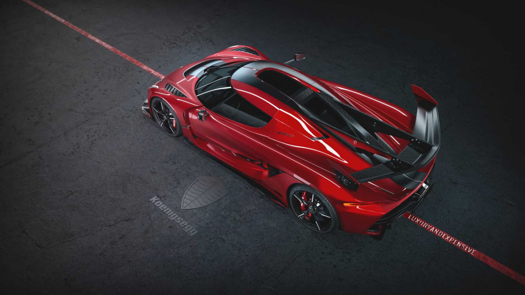 Koenigsegg Jesko Cherry Red edition
