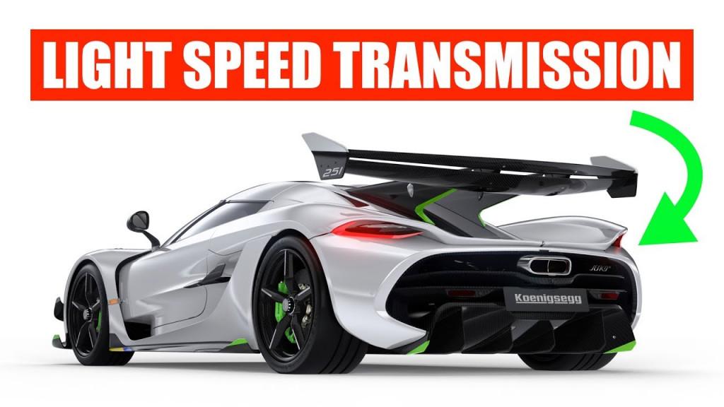 "How the Koenigsegg Jesko's ""Light Speed Transmission"" works"