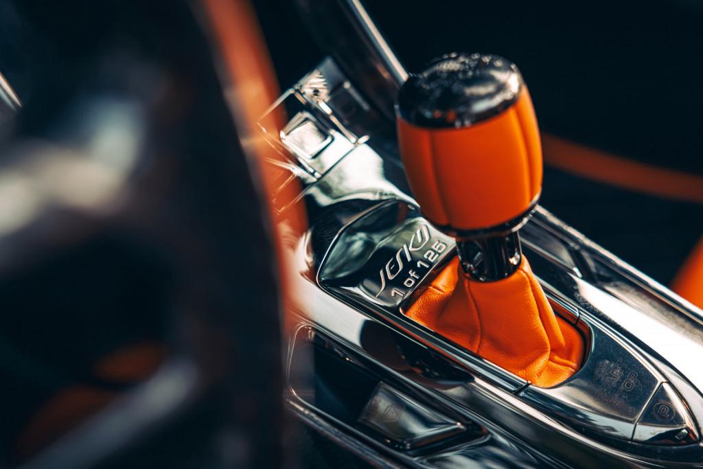 Koenigsegg Jesko pre-production model