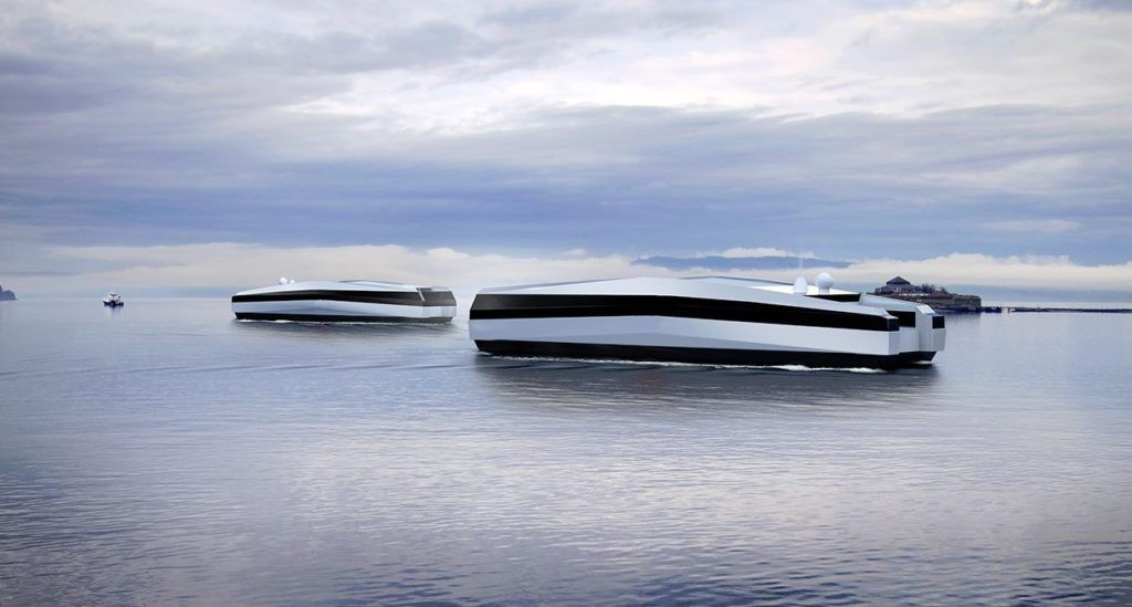 Kongsberg Maritime autonomous boat concept