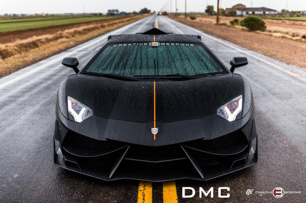 DMC Tuning takes the Lamborghini Aventador and adds lightness