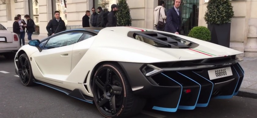 lamborghini centenario spotted looking delightful in paris