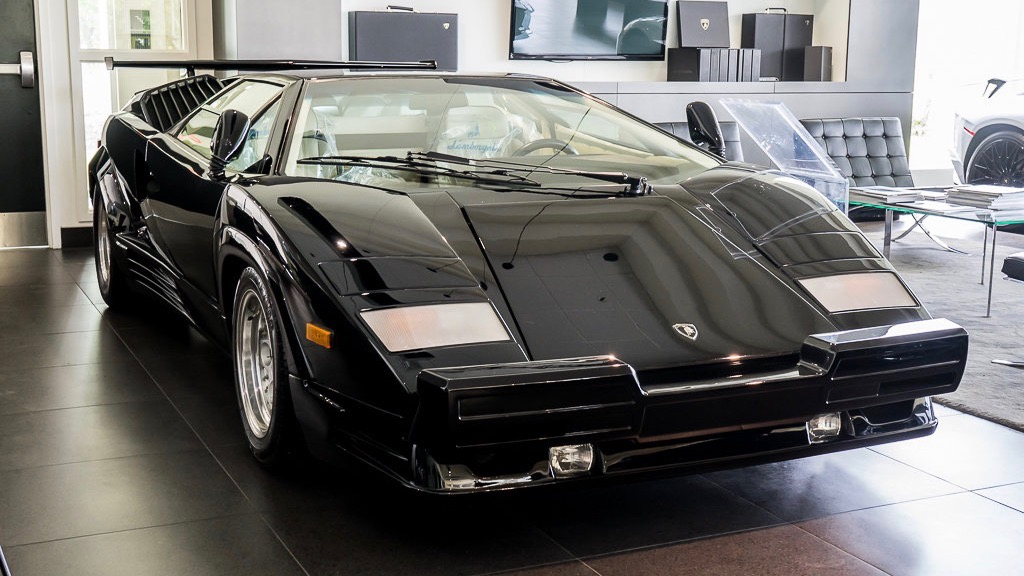 Lamborghini Countach with just 83 miles for sale (Photo by Lamborghini Montreal)