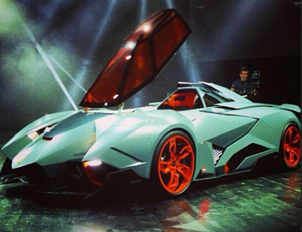 Image Lamborghini Egoista Concept Image Luxury