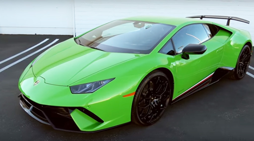Lamborghini Hurac 225 N Performante Engine Revs Are Pure Aural