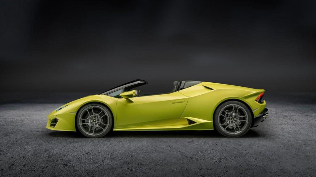 Lamborghini Huracán Rear-Wheel Drive Spyder