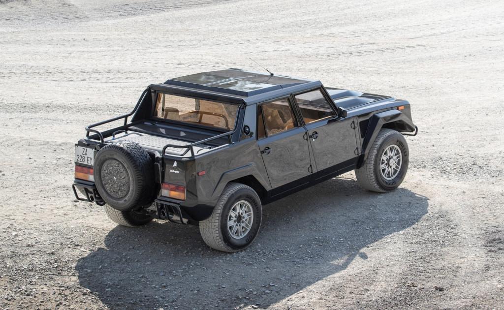 Lamborghini has considered an off-road LM002 successor