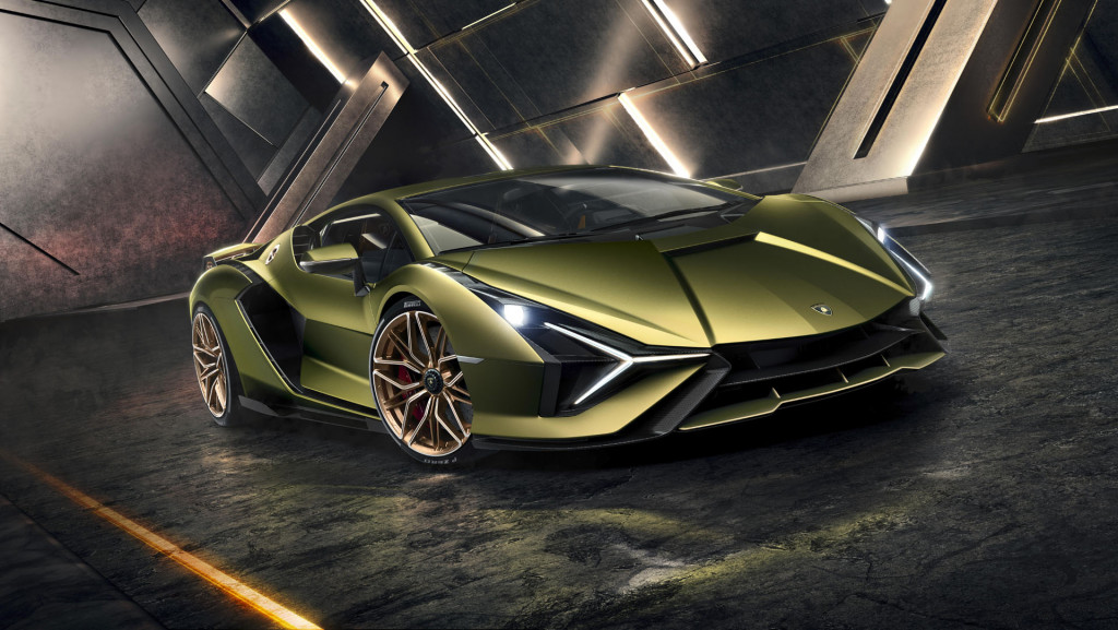 Lamborghini Sian FKP 37 honors the late Dr. Piech