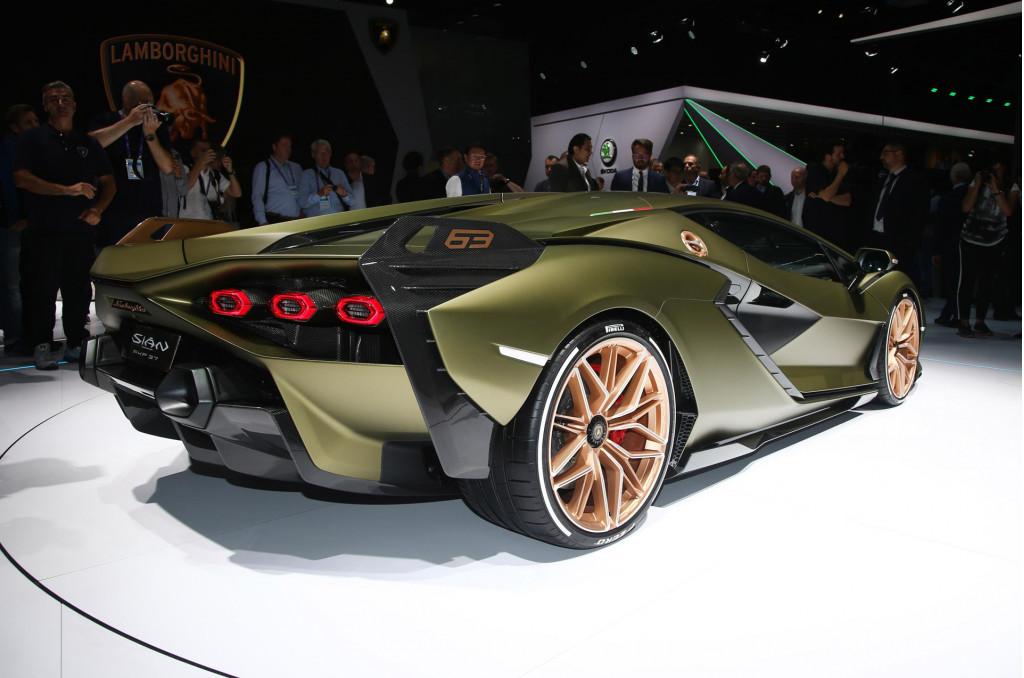 Lamborghini patents supercapacitor tech