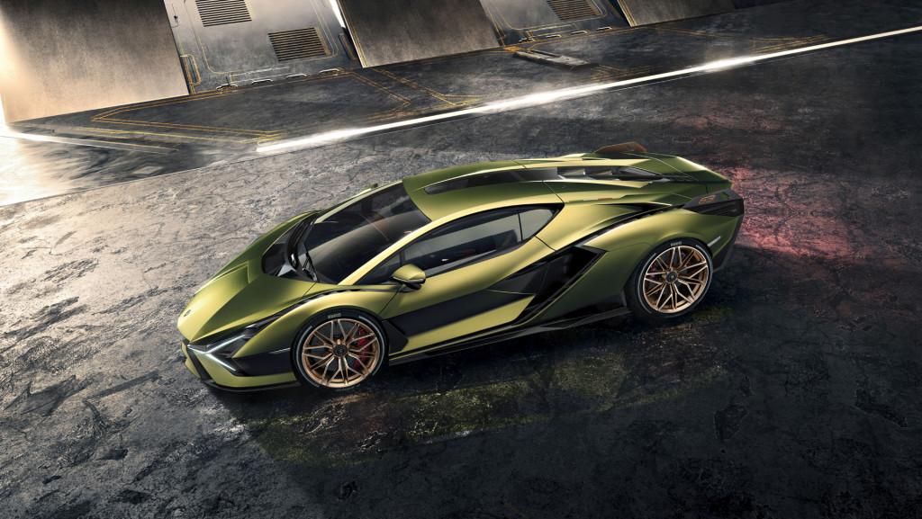 Lamborghini Sián hybrid hypercar