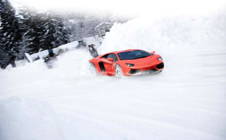 Lamborghini Wants To Teach You Winter Driving--In An Aventador