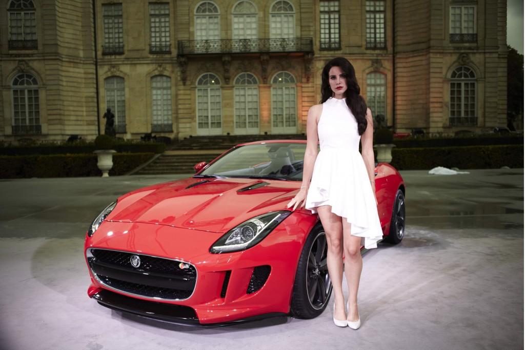 Lana Del Rey and the 2014 Jaguar F-Type