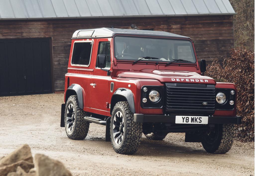 Land Rover Defender V-8 conversion marks 70th anniversary