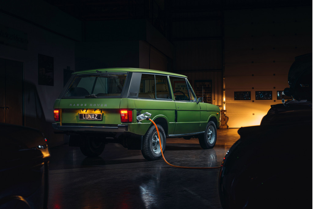 Land Rover Range Rover Classic EV conversion by Lunaz
