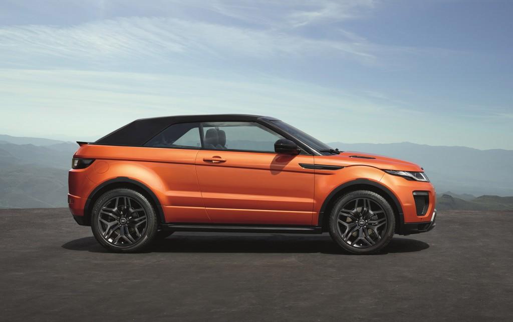 2017 Land Rover Range Evoque Convertible