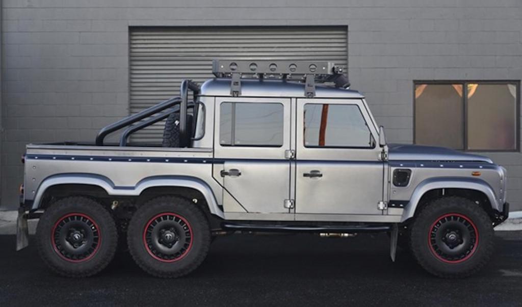Land Rover Defender-based 6x6 SUV