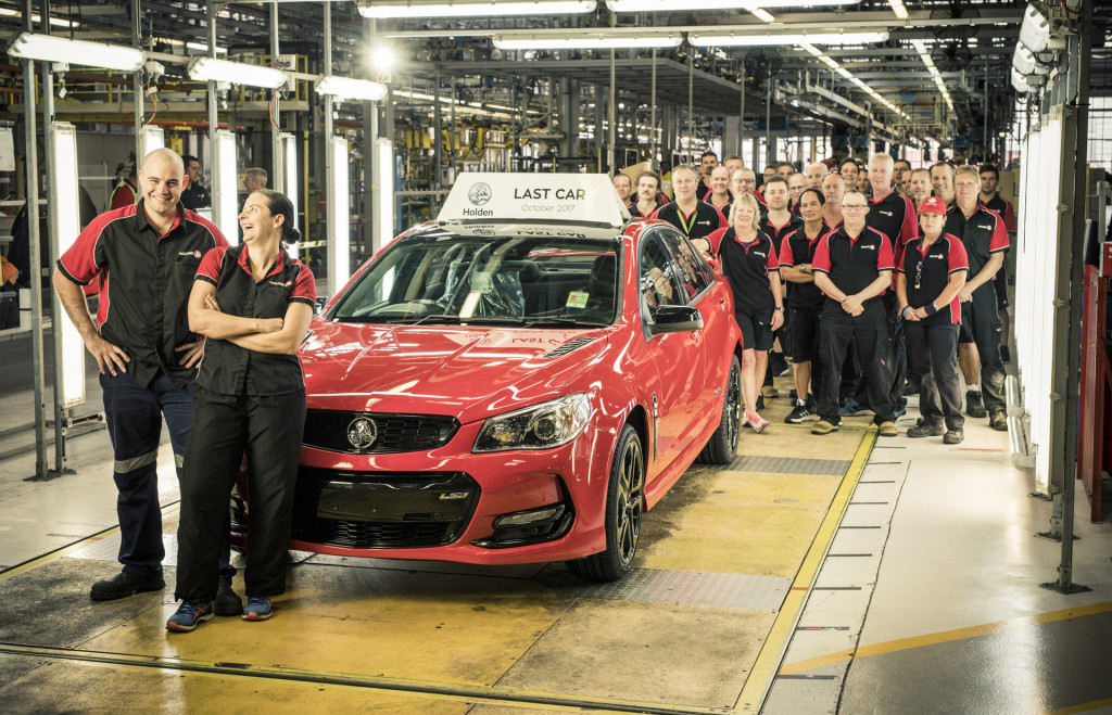 Australia marks the end of an era, exits car-building business