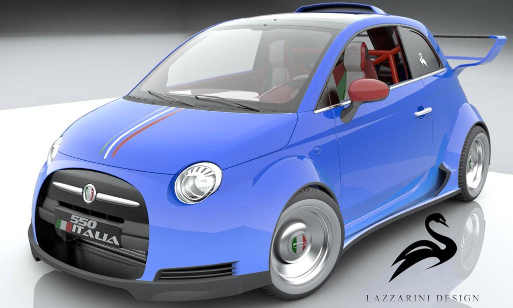 Lazzarini Design Wants To Build A Ferrari Powered Fiat 500