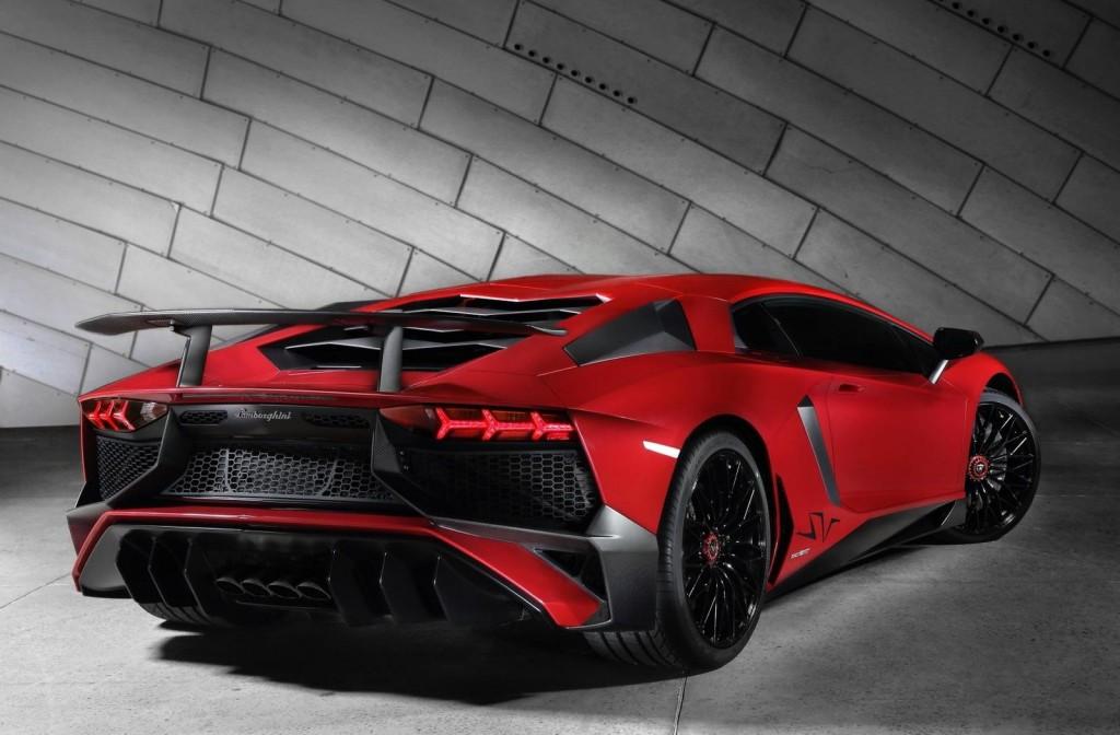 Leaked Lamborghini Aventador SuperVeloce