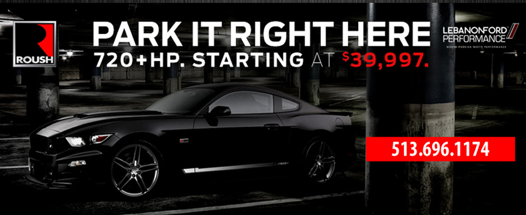 Lebanon Ford's ad for its $39,997 727-horsepower Ford Mustang GT