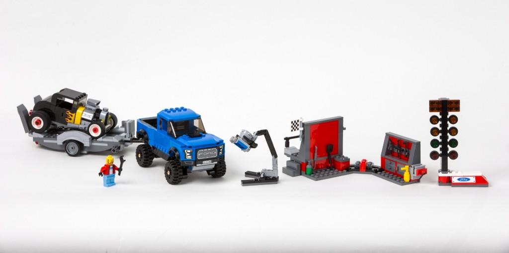 Lego F-150 Raptor Set