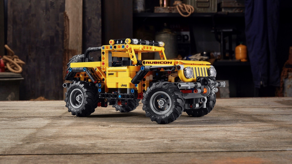 Lego Technic Jeep Wrangler Rubicon