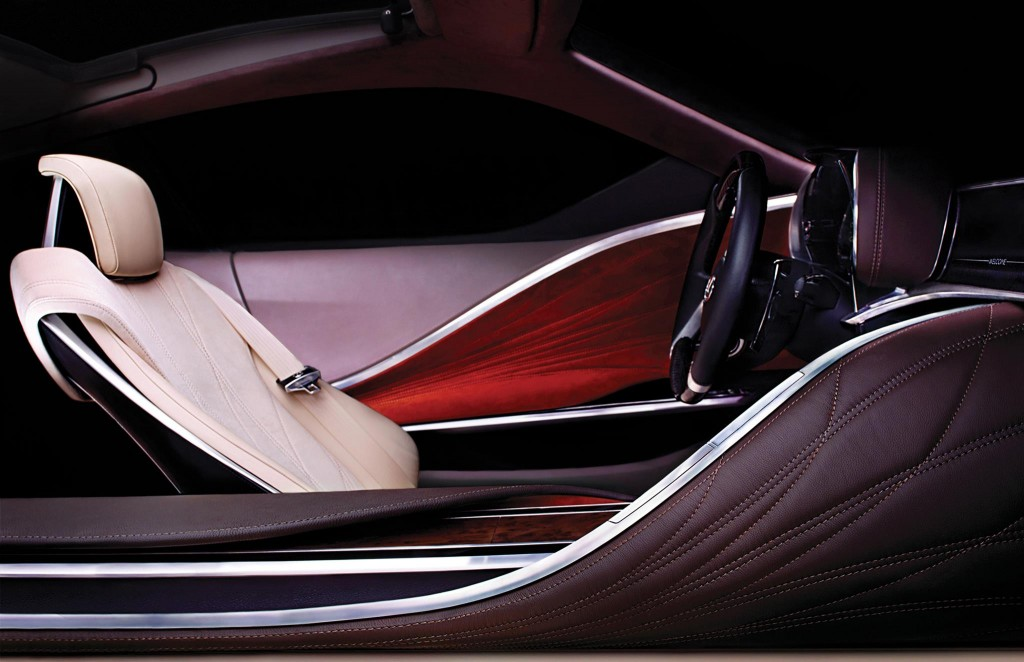 Lexus 2012 Detroit Auto Show concept teaser