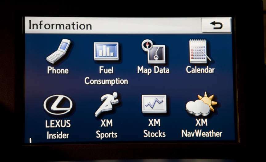 Lexus Enform Screen