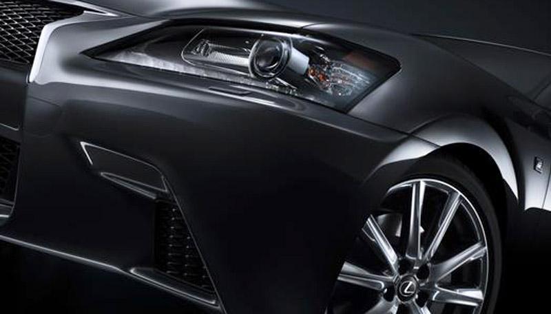 2013 Lexus GS 350 F Sport teaser