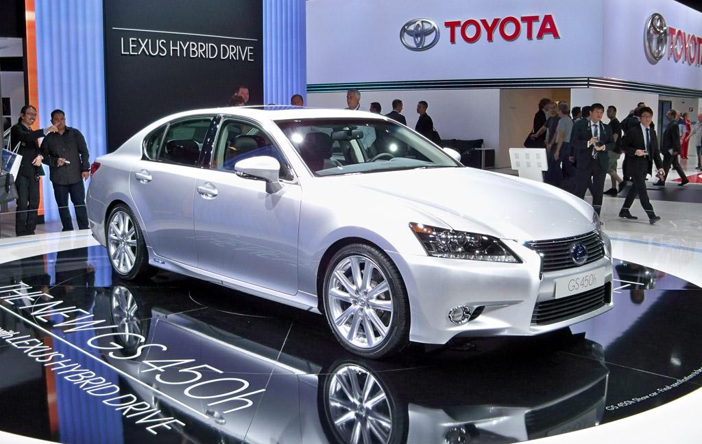 2013 Lexus Gs 450h Hybrid Sport Sedan To Be Rated Over 30 Mpg