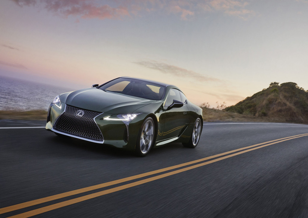 2020 Lexus LC Inspiration Series goes green—on the outside