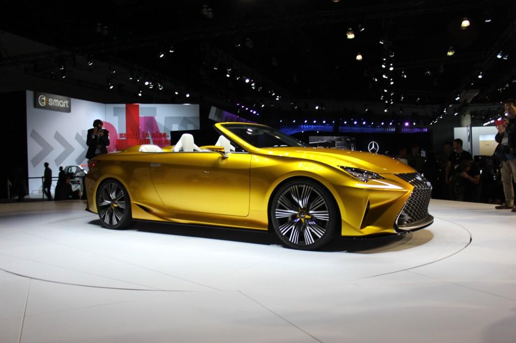 Image: Lexus LF-C2 Concept Convertible - 2014 Los Angeles Auto Show ...