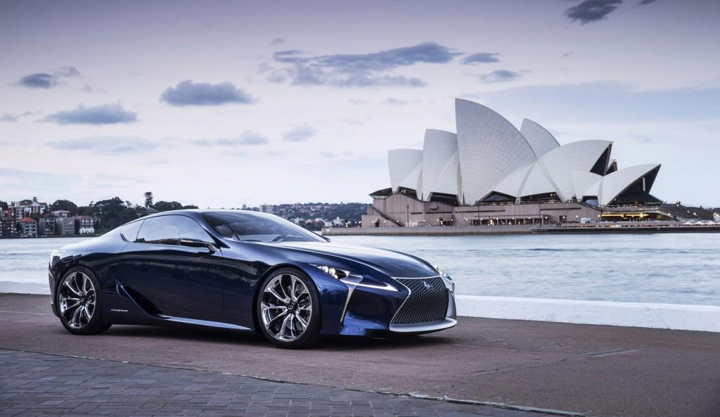Lexus Lf Lc Blue Concept Underwhelms In Australia