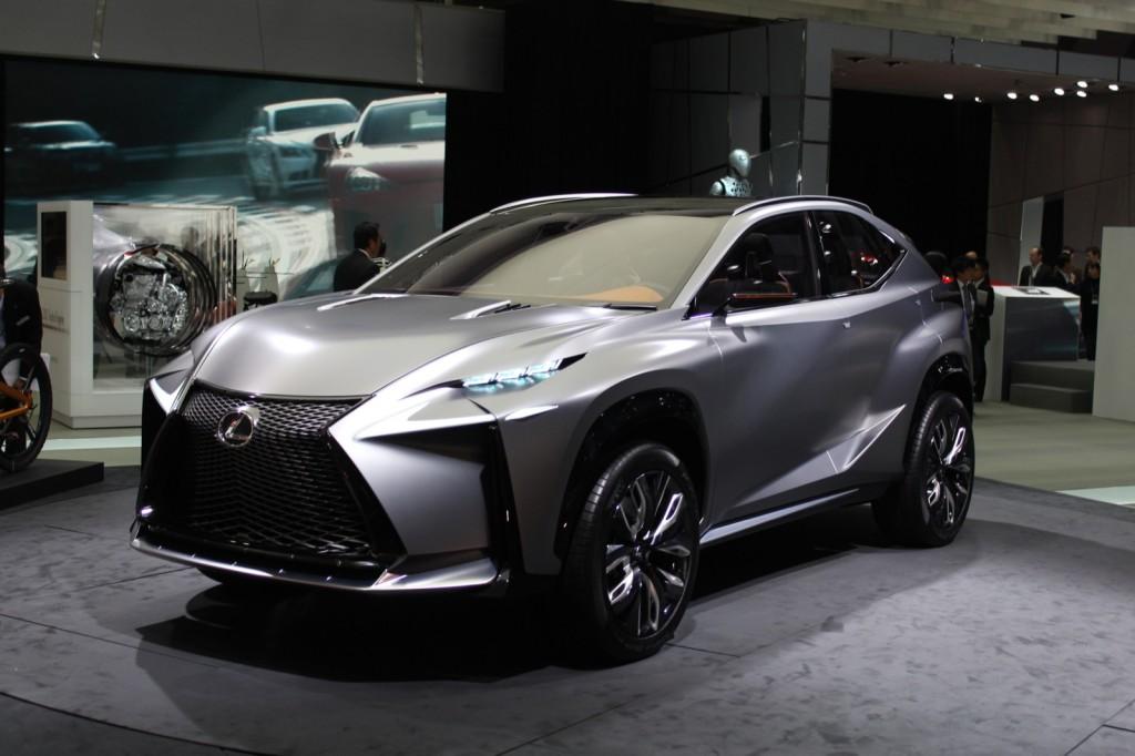 Image Lexus Lf Nx Turbo Concept 2013 Tokyo Motor Show