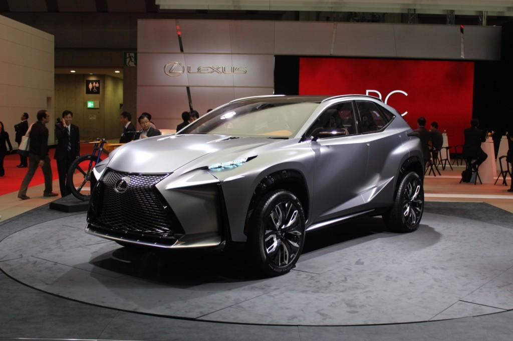 Lexus LF-NX Turbo concept  -  2013 Tokyo Motor Show live photos
